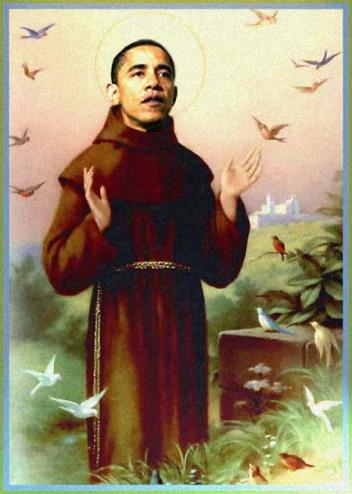 St. Barack of Assissi